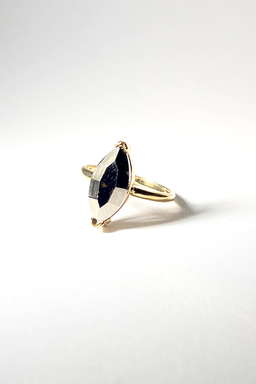 Erin Fader Jewelry Pyrite Ring - Main Image