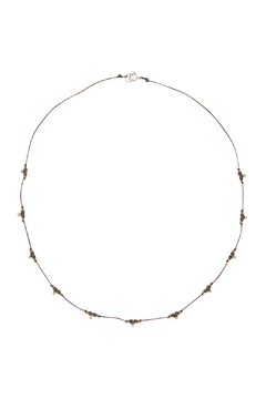 Bronwen Pyrite Trail Necklace - Product List Image