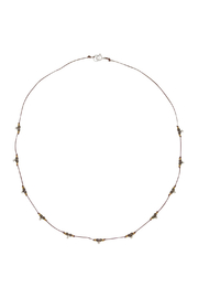 Bronwen Pyrite Trail Necklace - Front cropped
