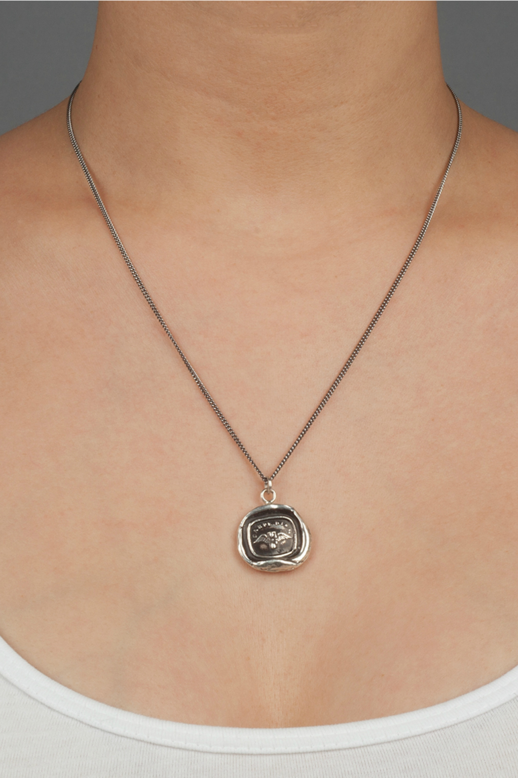 Pyrrha Sterling Silver Pendant - Side Cropped Image
