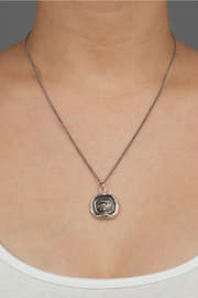 Shoptiques Product: Sterling Silver Pendant - Side cropped