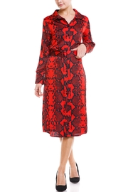 Venti 6 Python Belted Dress - Product Mini Image