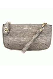 Joy Susan  Vegan Python Crossbody Wristlet Clutch - Product Mini Image