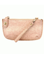Joy Susan Python Crossbody Wristlet Clutch - Product Mini Image