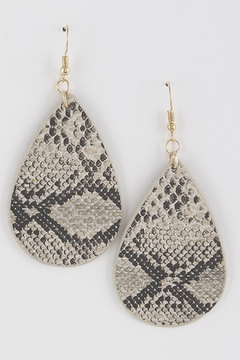 H & D Python Drop Earring - Product List Image