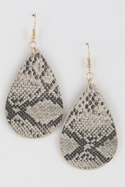 H & D Python Drop Earring - Product Mini Image