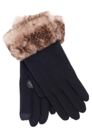 Echo Design Python Faux Fur Cluff Glove - Product Mini Image