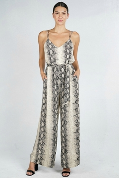 Lovestitch PYTHON JUMPSUIT - Product List Image
