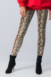 Yipsy Python Leggings - Front cropped