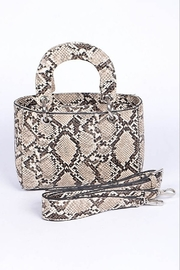 H & D Python Mini Bag - Product Mini Image