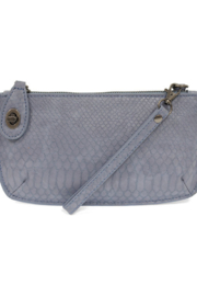 Joy Susan  Python Mini Crossbody Wristlet Clutch - Front cropped