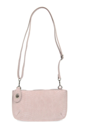 Joy Susan  Python Mini Crossbody Wristlet Clutch - Front full body