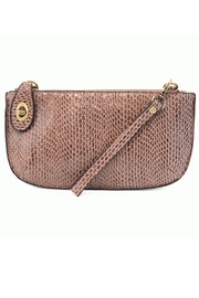 Joy Susan Python Mini Crossbody Wristlet Clutch - Product Mini Image