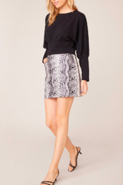 BB Dakota Python  Mini Skirt - Product Mini Image