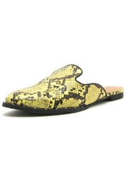 Shoe Addict  Python Mule Slide - Product Mini Image
