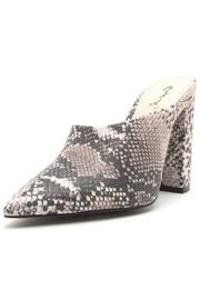 Qupid Python Open Bootie - Product Mini Image