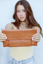 Klutch Python Passport Clutch - Product Mini Image