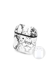 Private Label Python Pattern Air Pod Case/key chain - Front cropped