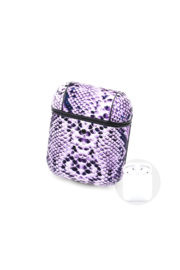 Private Label Python Pattern Air Pod Case/key chain - Product Mini Image