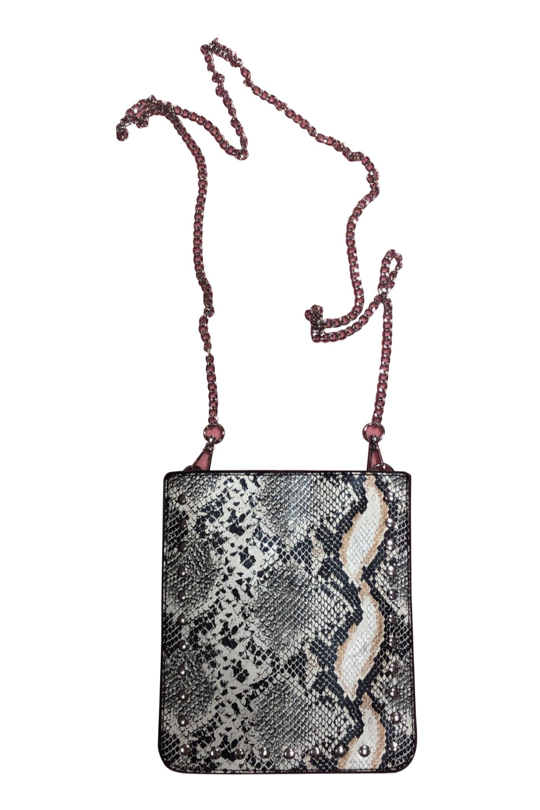 Ah!dorned Python Studded Crossbody - Main Image