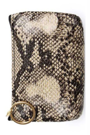 Bag Boutique Python Wallet - Front cropped