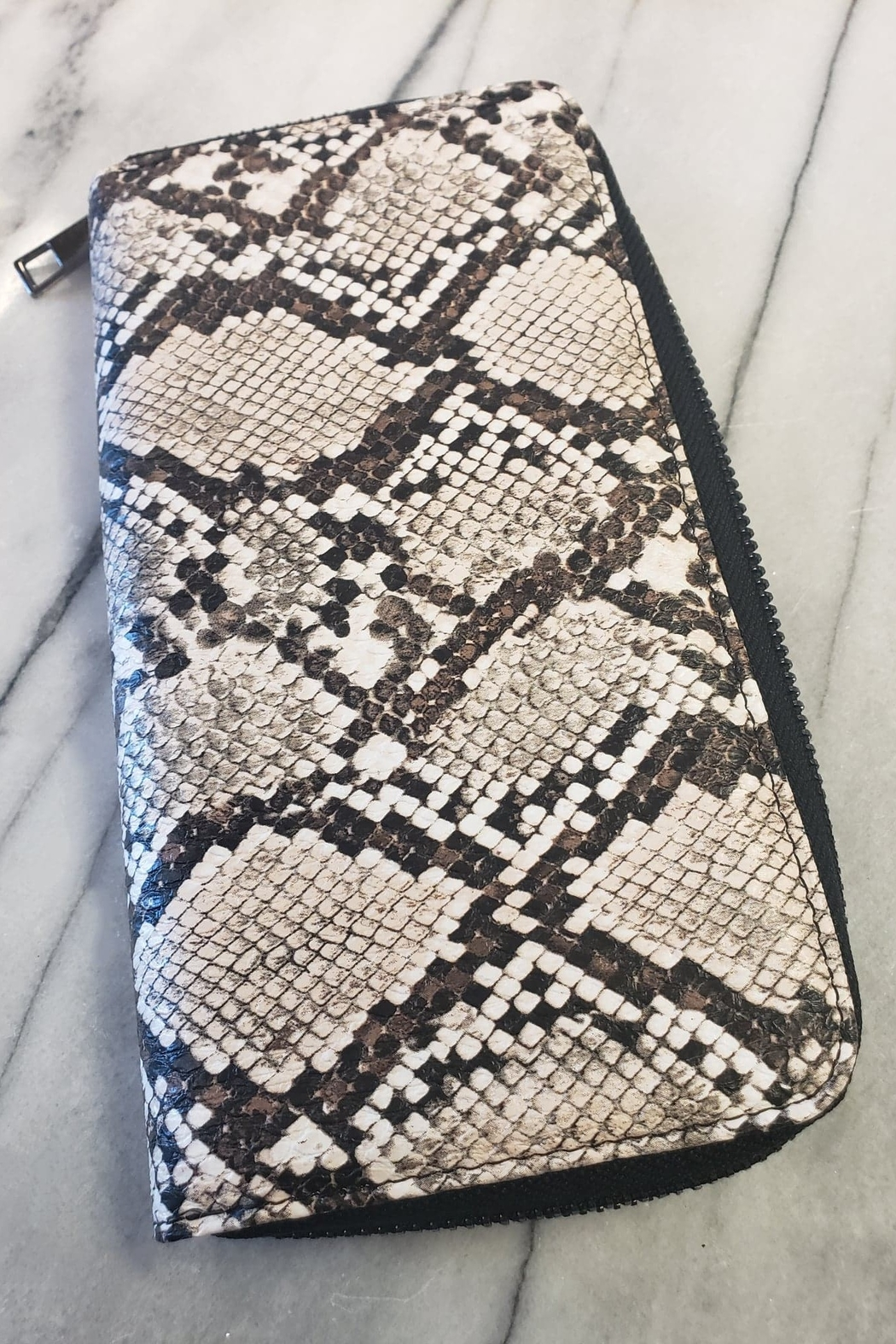 Toami Unni Python Wallet - Front Cropped Image
