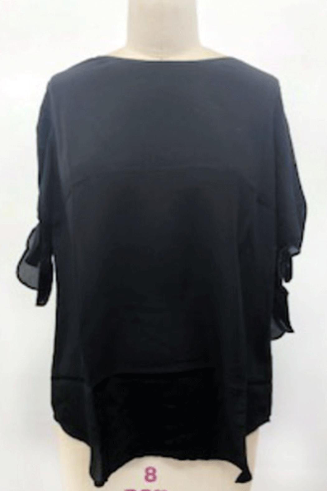 Q&A Tie Sleeve Blouse - Main Image