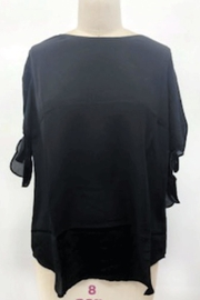Q&A Tie Sleeve Blouse - Front cropped