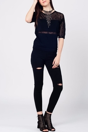 Q2 Black Knit Top - Other