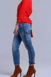 Q2 Boyfriend Jeans - Product Mini Image