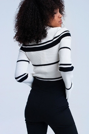 Q2 Bell Sleeve Sweater - Front full body