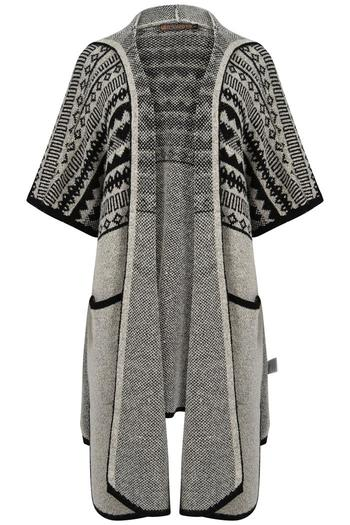 3d0b97f43dbd Qed of London Oversized Hooded Cardigan from West Yorkshire by ...