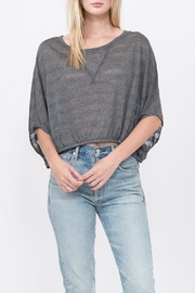 Qi Craig Stripe Top - Front cropped