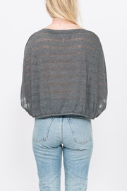 Qi Craig Stripe Top - Side cropped