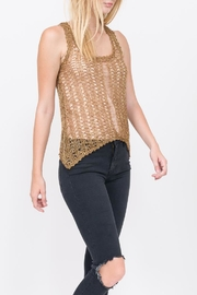 Qi Gold Rush Top - Product Mini Image