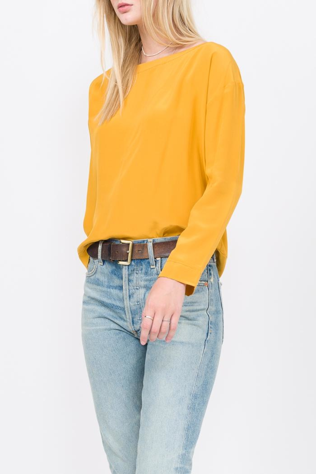 Qi Wrangler Top - Front Cropped Image