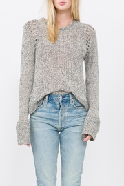 Qi Cashmere Knit Pullover Top - Product Mini Image