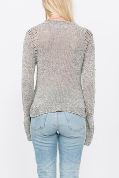 Qi Cashmere Knit Pullover Top - Alternate List Image
