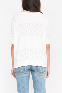 Qi Cashmere Halle Oversized Top - Alternate List Image