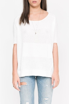 Qi Cashmere Halle Oversized Top - Product List Image