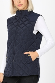 Lyn -Maree's Quilted Vest - Product Mini Image