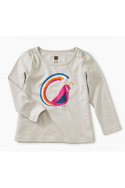 Tea Collection Quail Tail Graphic Tee - Front cropped