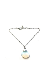 Love's Hangover Creations Quartz Anklet - Front cropped