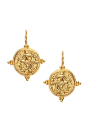 The Birds Nest QUATRO COIN EARRINGS - Front cropped