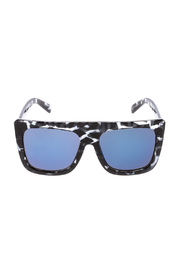 Quay Australia Blue Tortoise Sunglasses - Front full body