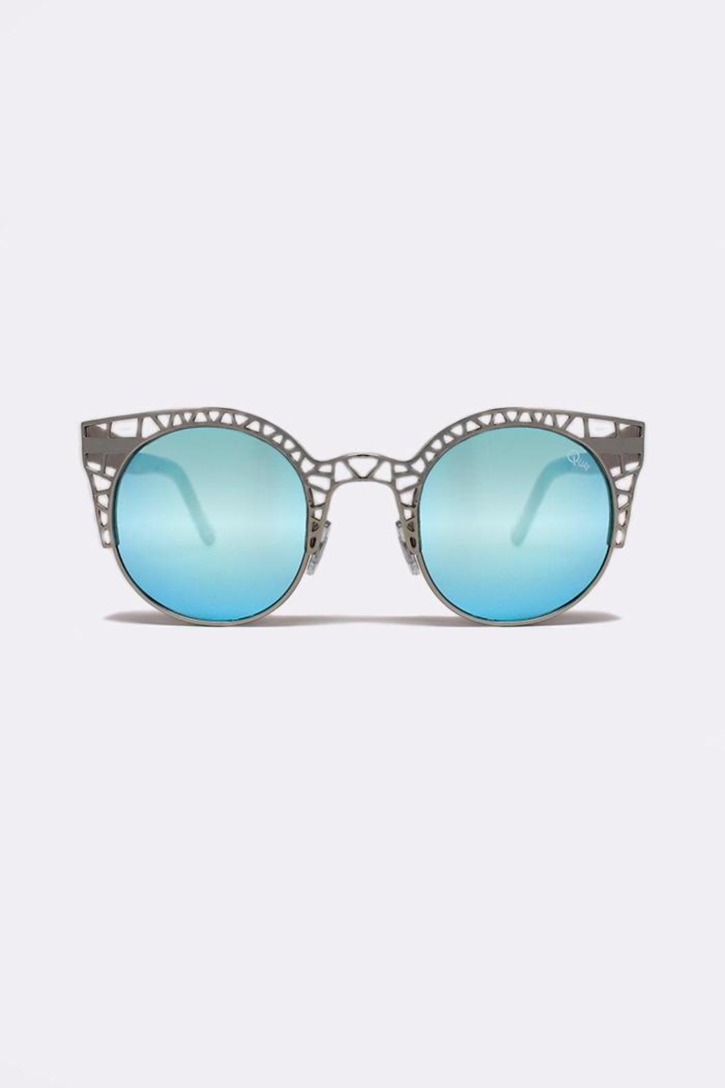0de9d626219 Quay Australia Fleur Silver Sunglasses from Dallas by Haven — Shoptiques