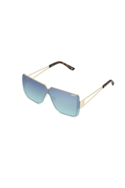 Quay Australia Bank Roll Sunglasses - Front full body