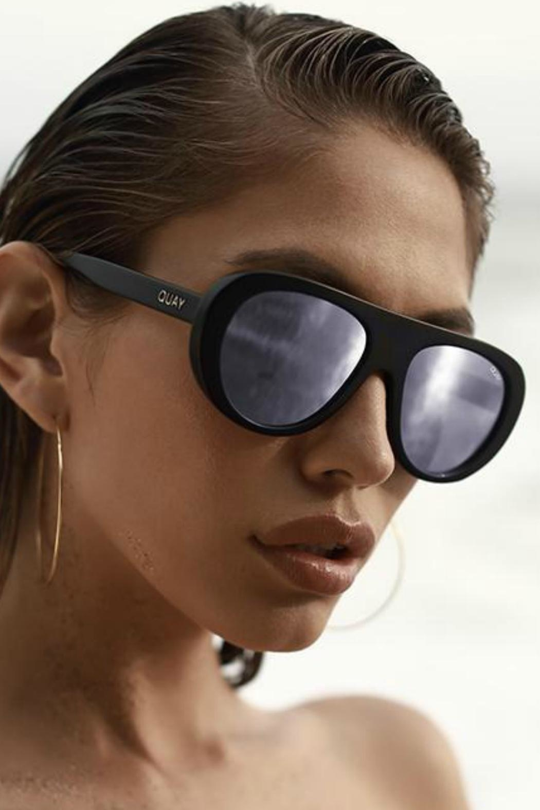 Quay Australia Bold Moves Sunnies - Side Cropped Image