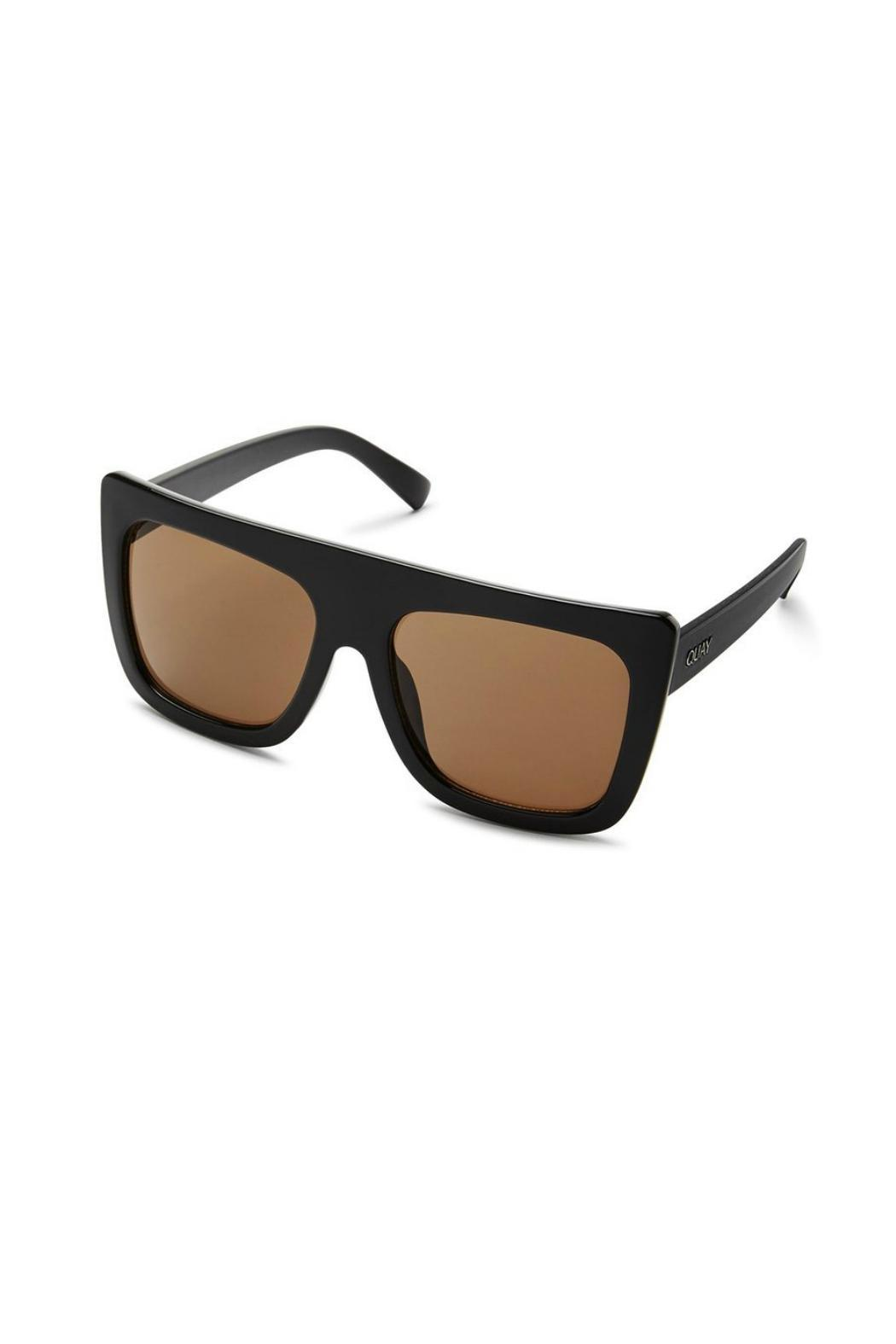 Quay Australia Cafe Racer Sunnies - Back Cropped Image