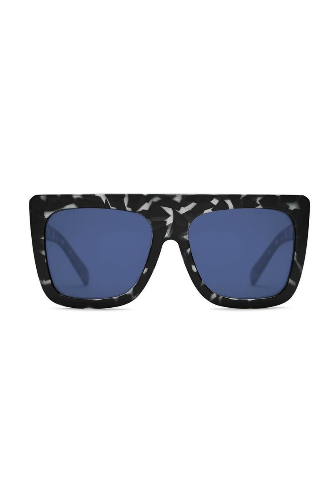 Quay Australia Cafe Racer Sunnies - Front Cropped Image